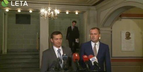 Bēgļu krīze Latvijā: Vējonis cenšas samierināt partijas