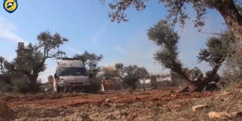 Sīrijā uzlidojumos slimnīcām un skolām nogalināti vairāki desmiti cilvēku