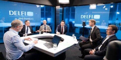'Delfi TV ar Jāni Domburu' atbild topošās valdības līderi