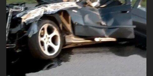 Smaga autoavārija Jūrmalā - 2
