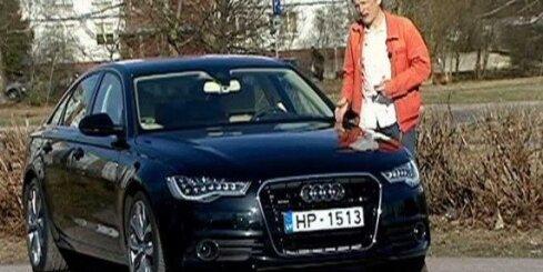Audi A6 'Zebras' testā