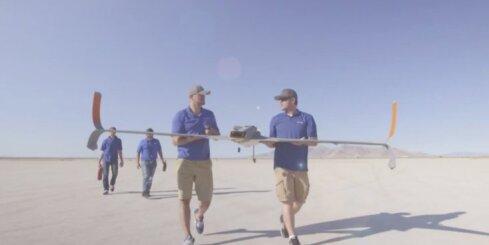 Ātrākais ar 3D printeri radītais reaktīvais drons