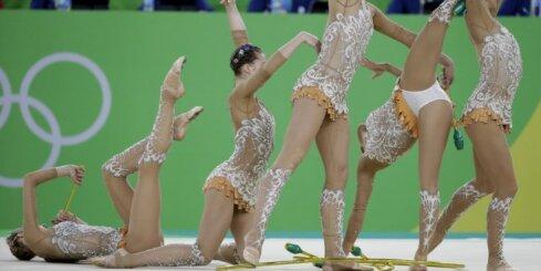 Riodežaneiro vasaras olimpisko spēļu mākslas vingrošanas komandu sacensību rezultāti (21.08.2016.)