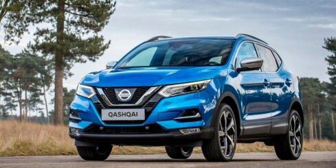'Nissan' modernizējis 'Qashqai' modeli