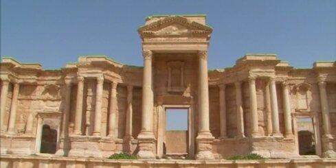 'Islāma valsts' kaujinieki uzspridzina senu templi Palmīrā