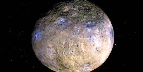Uz pundurplanētas atrasts ledus