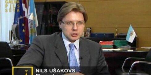 Ušakovs un Šlesers par Rīgas budžetu