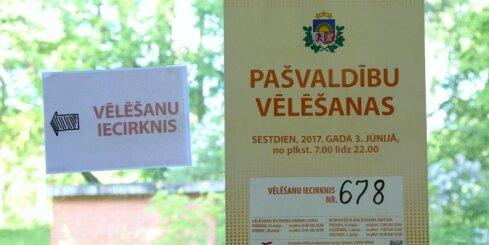Līdz pulksten 12. visvairāk balsotāju Rīgā, Zemgalē nobalsojuši vien 23,2%