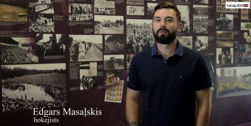 Projekta 'Gadsimta albums' vēstneši - Edgars Masaļskis