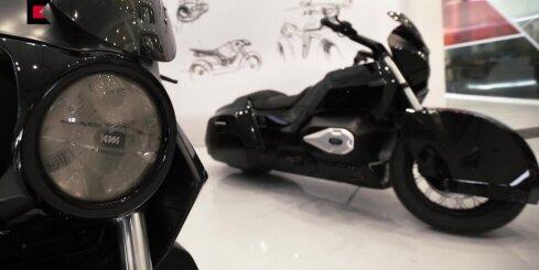 Kalašņikova rūpnīcā radīts motocikls Krievijas elites eskortēšanai