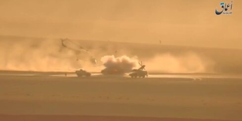 Sīrijā iznīcina Krievijas helikopteri