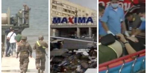 Video apskats: Zolitūdes izmeklēšanas skarbie secinājumi, Tjaņdziņa atkopjas, Bangkokā nāvējošs sprādziens