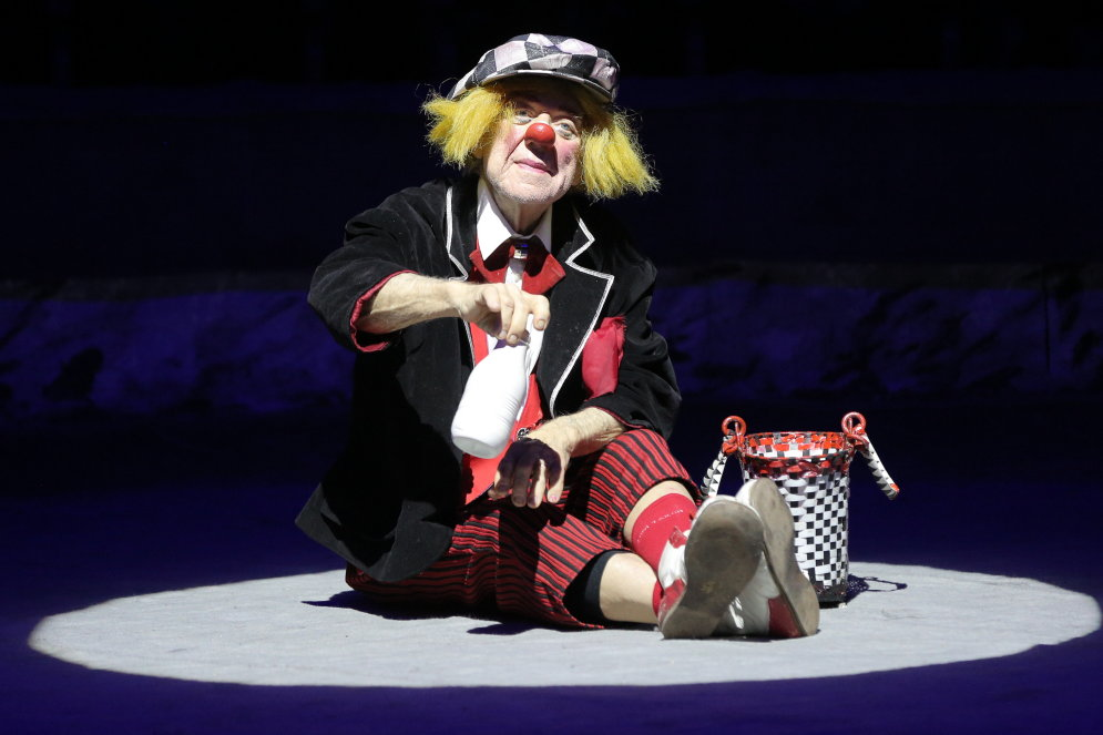 Ушел изжизни легендарный клоун Олег Попов