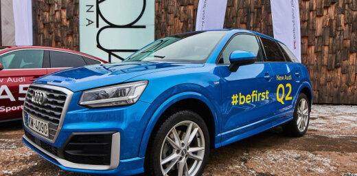 'Audi Q2' iegūst zelta apbalvojumu Vācijas Dizaina balvā