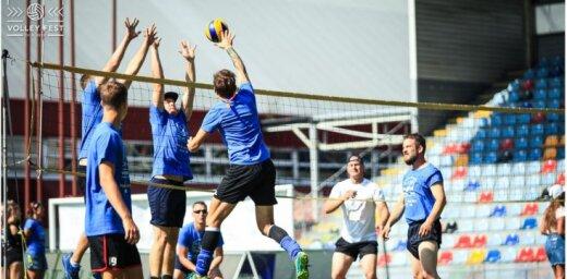 Foto: 'Lido Volley Fest' turnīrs pulcē 600 volejbola entuziastus no Latvijas, Igaunijas un Lietuvas