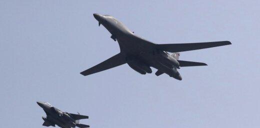 Бомбардировщики США впервые очень близко пролетели у берегов КНДР