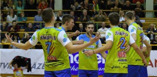 Latvijas vīriešu volejbola komandas piedzīvo zaudējumus meistarlīgas mačos
