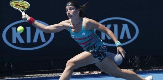 Sevastova pēc pretinieces izstāšanās sasniedz Australian Open' otro kārtu