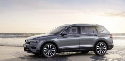'VW Tiguan' pagarinātā versija 'Allspace' Eiropas tirgum