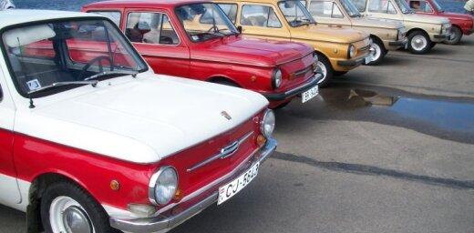 ZAZ automašīnas Rīgas ielās