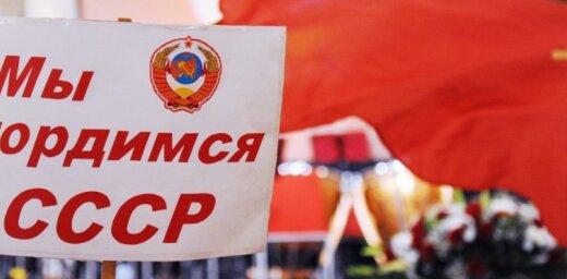 Krievijas ūdenspolo treneri pasaules čempionāta arēnā vēlējušies ieiet krekliņos ar PSRS simboliku