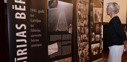 Festivālā 'Via Baltica' atklās izstādi un rādīs filmu 'Sibīrijas bērni'