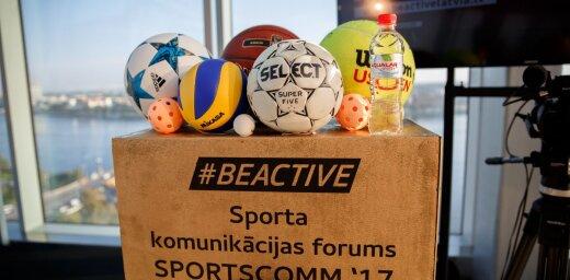 Eiropas Sporta nedēļas ietvaros risināsies forums 'SportsComm'19'