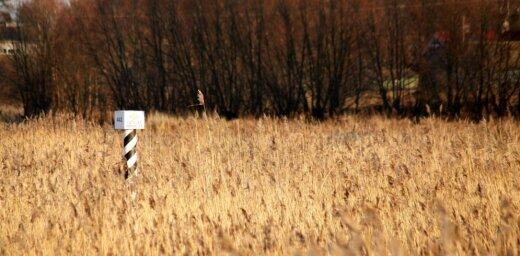 Завершена длившаяся 8 лет демаркация границы Латвии с Россией