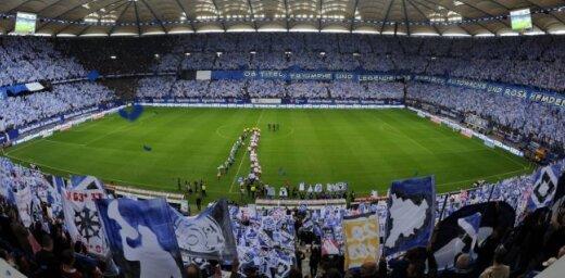 Hamburgas SV pirmo reizi kluba vēsturē izkrīt no Vācijas bundeslīgas