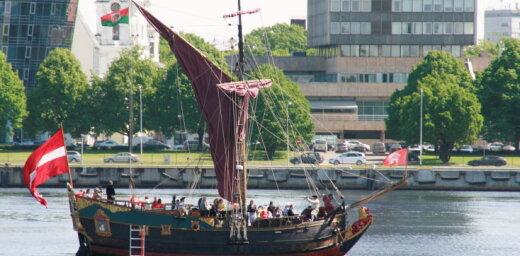 LTV7: В Кекаве рассматривают идею создания речного транспорта до Риги