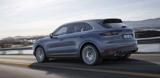 'Porsche' oficiāli prezentējis jauno 'Cayenne' modeli