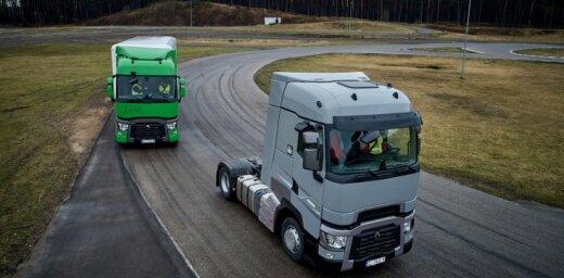 Foto: 'Renault Truck' smago auto testa diena Latvijā
