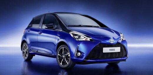 Modernizētais 'Toyota Yaris' turpmāk tikai ar benzīna dzinēju