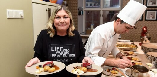 Foto: Ar Noras Ikstenas stāsta 'Meža vakte' pagatavošanu atklāj 'Introverto pusdienu' akciju