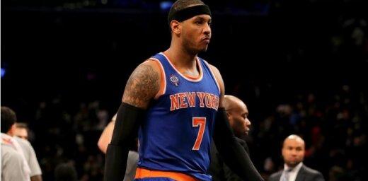 Entonijs: ja 'Knicks' grib no manis atbrīvoties, tad mums par to jāizrunājas