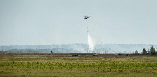 СМИ: военные с непростительным опозданием оповестили о пожаре на Адажском полигоне