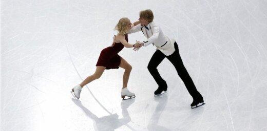 Daiļslidotājiem Jakušinai/ Ņevskim 29. vieta pasaules čempionātā pāru dejās
