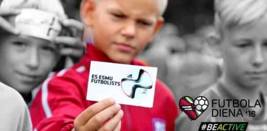 Sākusies pasākumu pieteikšana dalībai Futbola dienā 2016