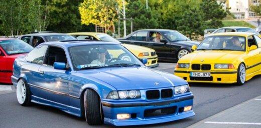 Foto: Viļņā norisinājies BMW 'žurku' salidojums