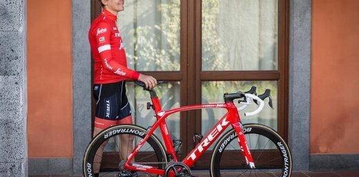 Skujiņš 'Trek–Segafredo' vienībā debitē ar 34. vietu 'Trofeo Serra' velobraucienā Maljorkā
