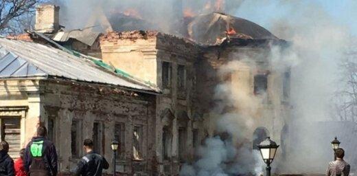 За сутки произошло три пожара повышенной опасности