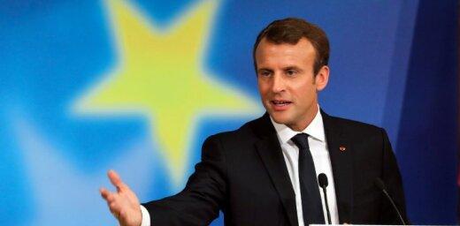 Макрон предложил создать единую армию ЕС к 2020 году