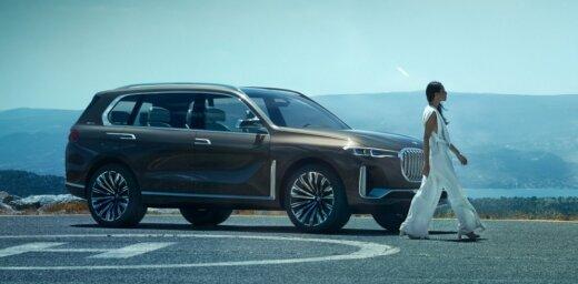 BMW oficiāli parādījis lielā apvidnieka 'X7' prototipu