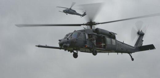 В Ираке разбился военный вертолет США