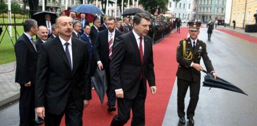 Вейонис: Латвия хочет укреплять сотрудничество с Азербайджаном в сфере транспорта (ФОТО)