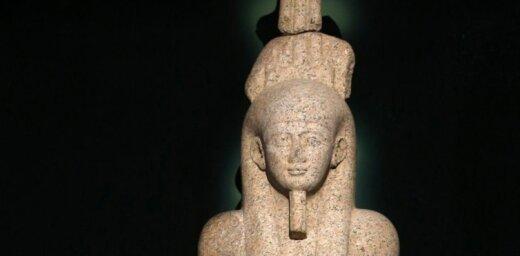 В древнейшей египетской пирамиде нашли статую бога