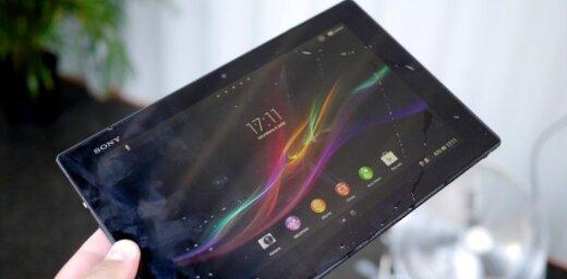 Latvijā oficiāli prezentē ūdensizturīgo planšetdatoru 'Sony Tablet Z'