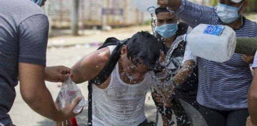 Protestos pret pensiju reformu Nikaragvā vismaz 25 cilvēki zaudējuši dzīvību