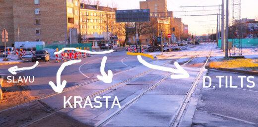 """РД об организации движения на улице Маскавас: """"Знаки должны быть простыми и понятными"""""""