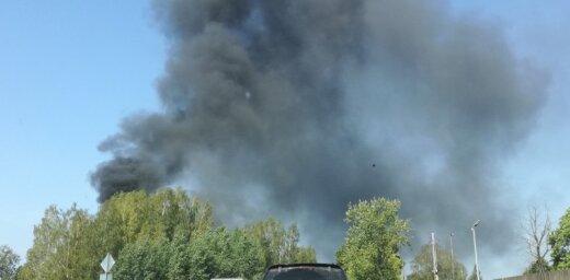 ВИДЕО: Пожар повышенной опасности в Кенгарагсе локализован